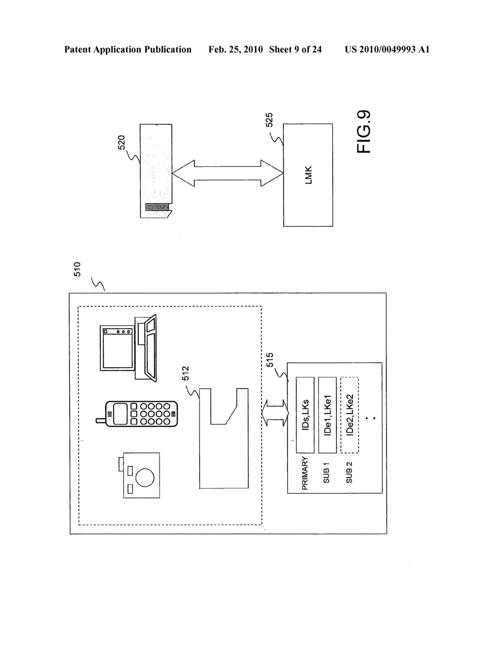 SYSTEMS AND METHODS FOR LOCKING AND EXPORTING THE LOCKING OF A REMOVABLE MEMORY DEVICE - diagram, schematic, and image 10