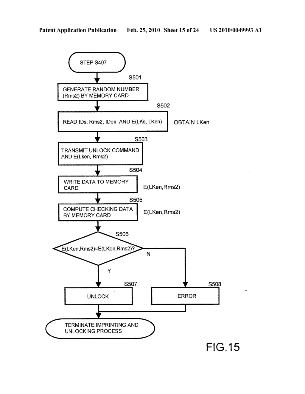 SYSTEMS AND METHODS FOR LOCKING AND EXPORTING THE LOCKING OF A REMOVABLE MEMORY DEVICE - diagram, schematic, and image 16