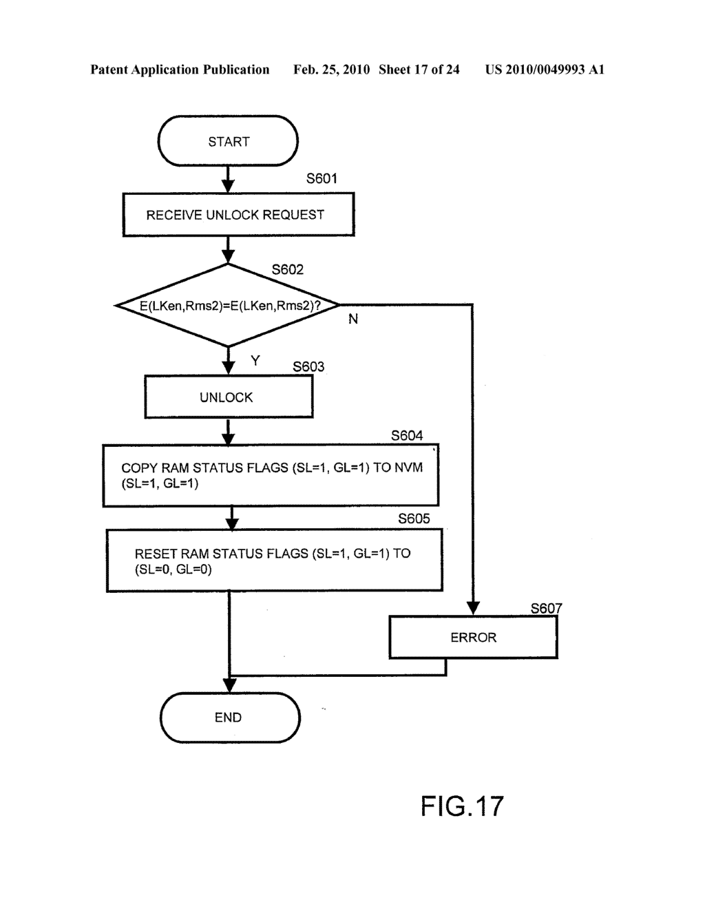 SYSTEMS AND METHODS FOR LOCKING AND EXPORTING THE LOCKING OF A REMOVABLE MEMORY DEVICE - diagram, schematic, and image 18