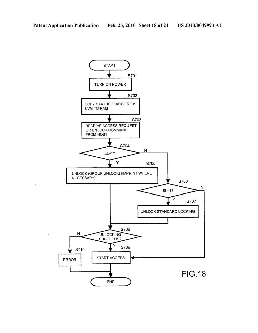 SYSTEMS AND METHODS FOR LOCKING AND EXPORTING THE LOCKING OF A REMOVABLE MEMORY DEVICE - diagram, schematic, and image 19