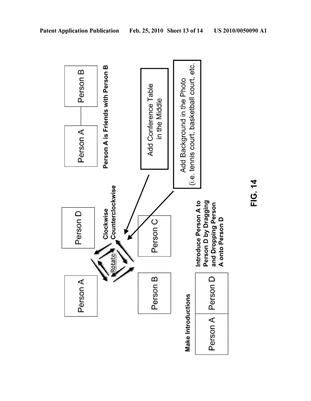 SYSTEM AND METHOD FOR FACILITATING ONLINE SOCIAL NETWORKING - diagram, schematic, and image 14