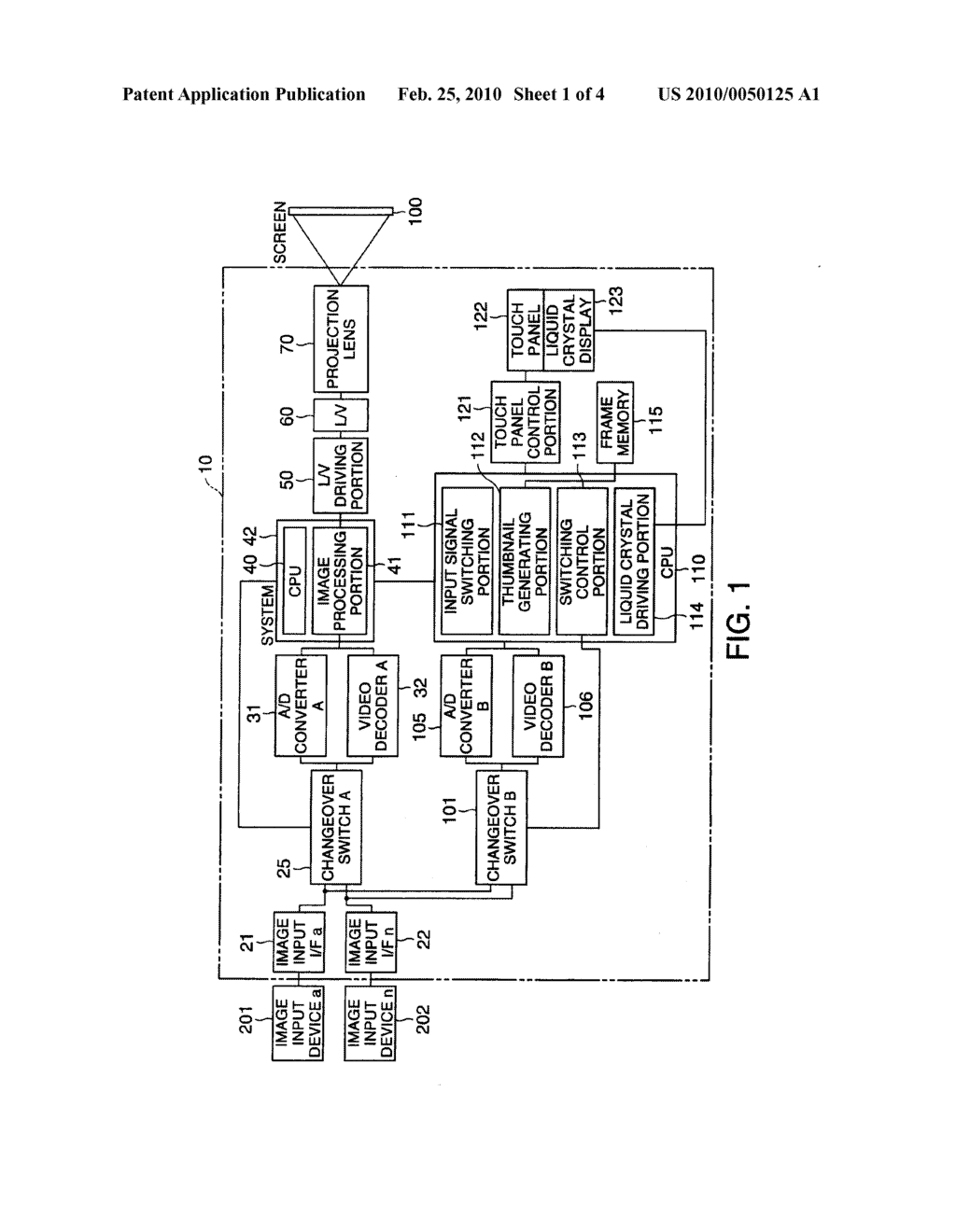 PROJECTOR - diagram, schematic, and image 02
