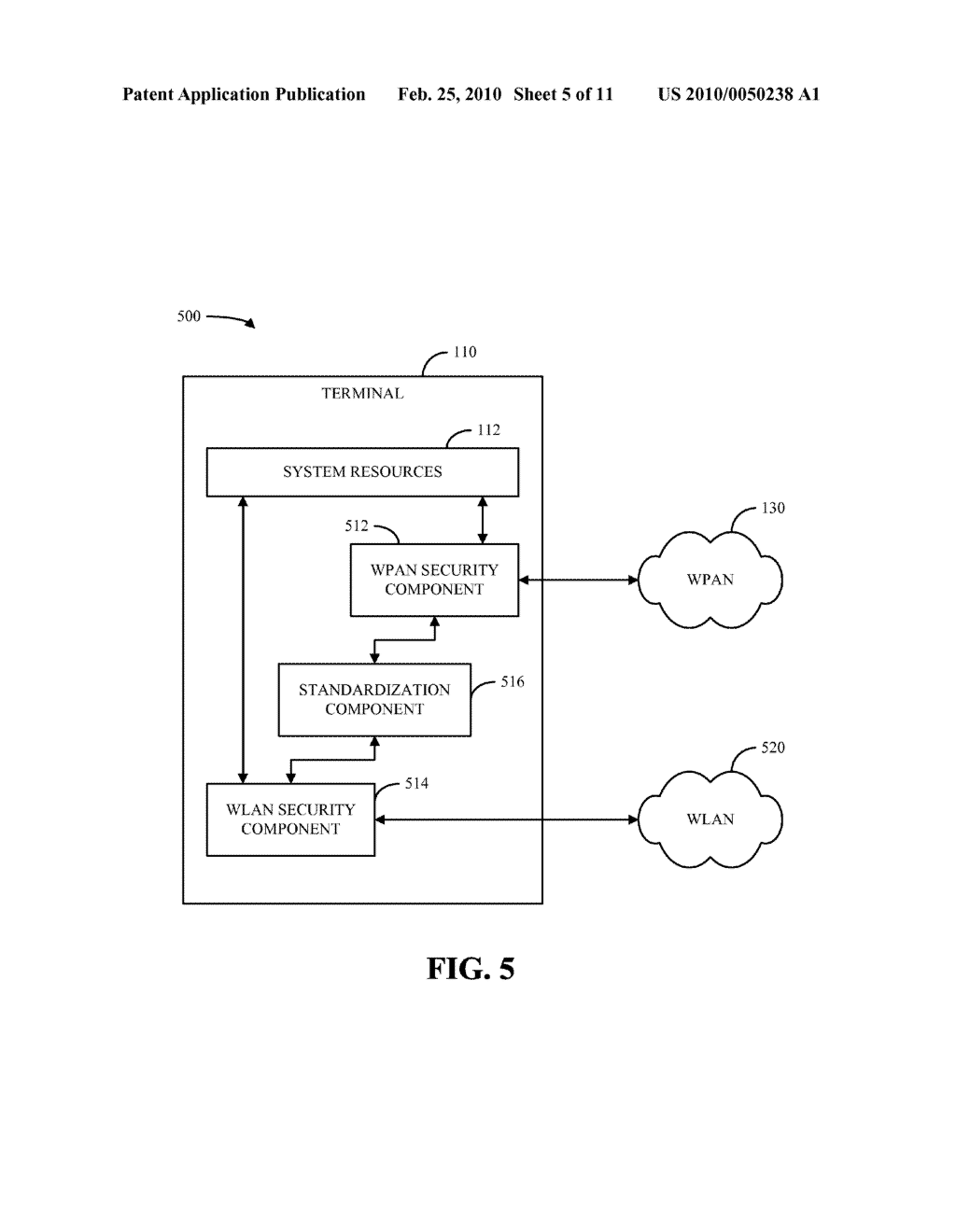 SYSTEM AND METHOD FOR A WPAN FIREWALL - diagram, schematic, and image 06