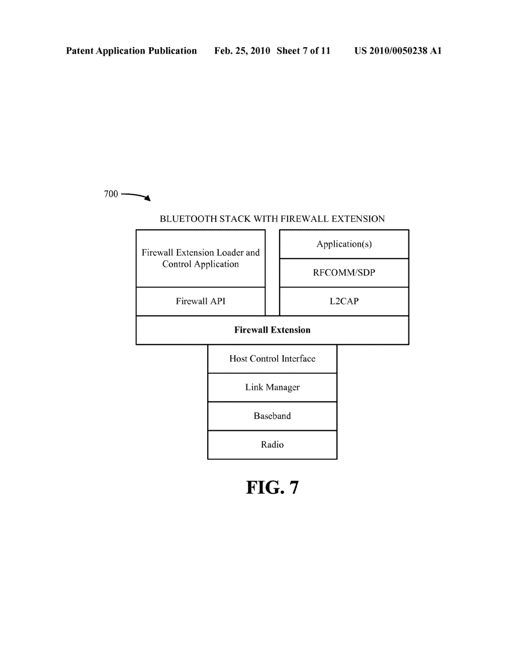 SYSTEM AND METHOD FOR A WPAN FIREWALL - diagram, schematic, and image 08