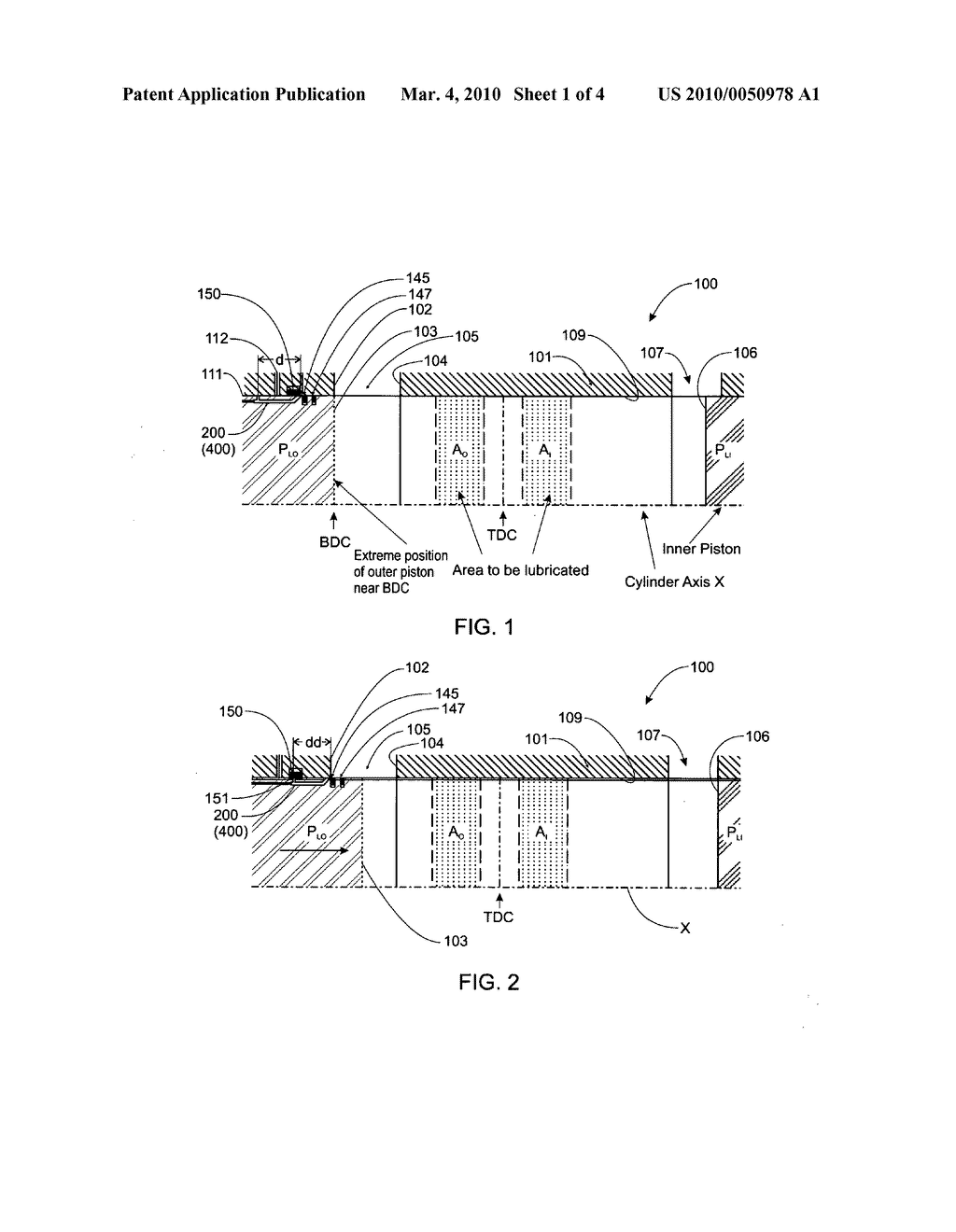 Lubrication system for the piston ring and cylinder liner of an internal  combustion engine - diagram, schematic, and image 02