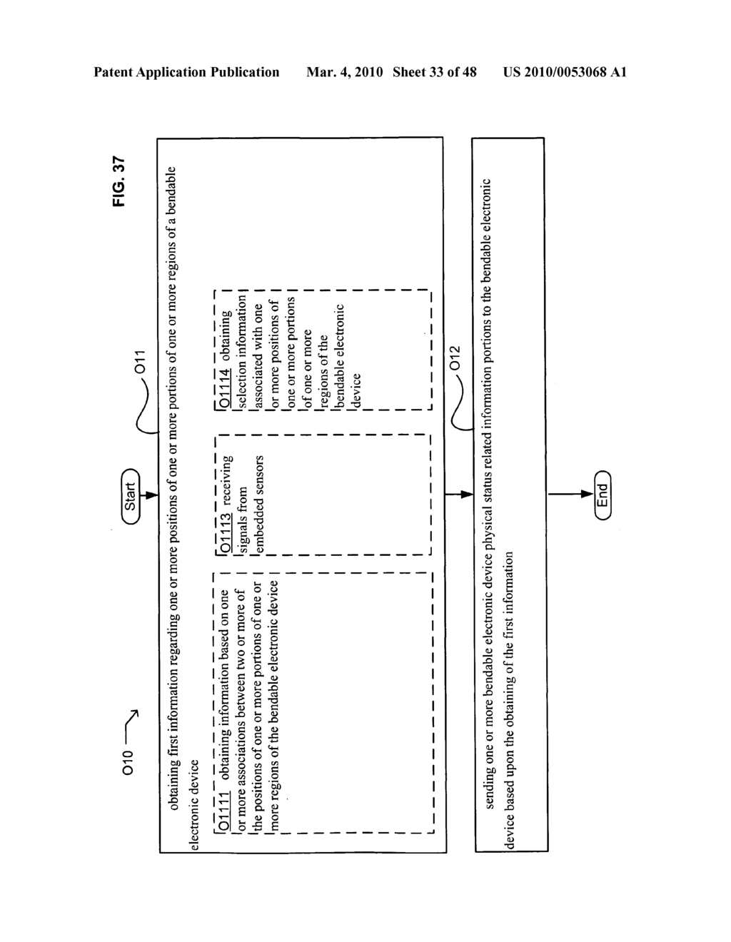Bendable electronic device status information system and method - diagram, schematic, and image 35