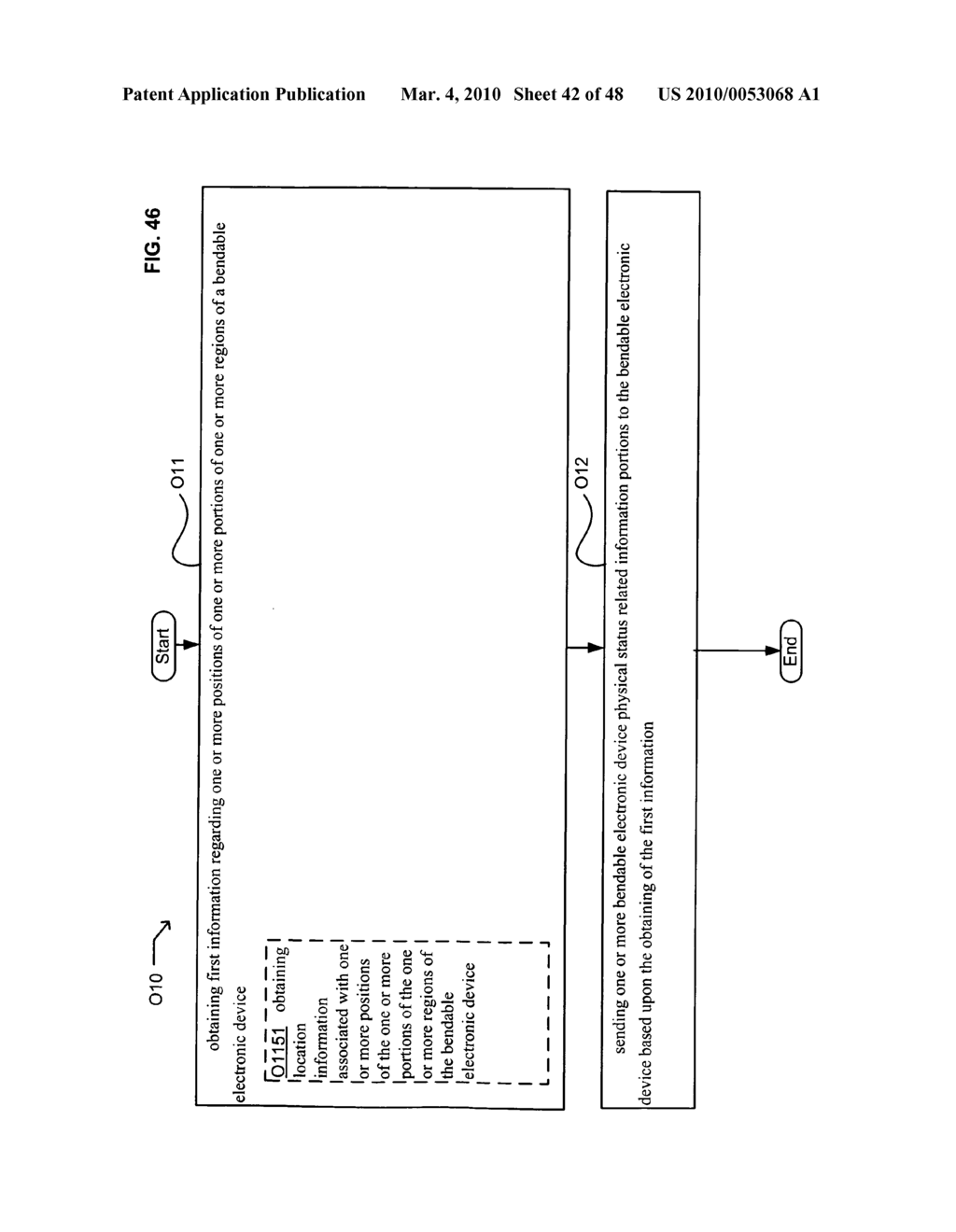 Bendable electronic device status information system and method - diagram, schematic, and image 44