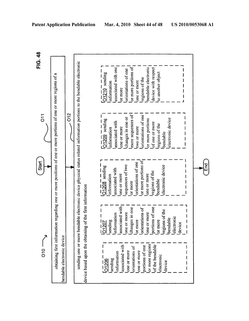 Bendable electronic device status information system and method - diagram, schematic, and image 46