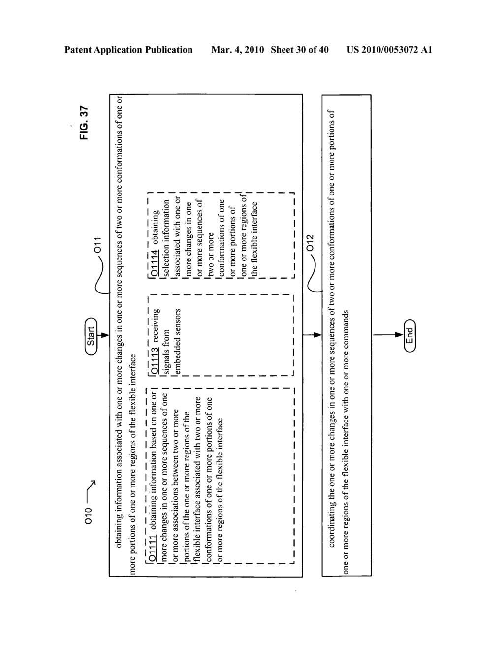 Application control based on flexible interface conformation sequence status - diagram, schematic, and image 31