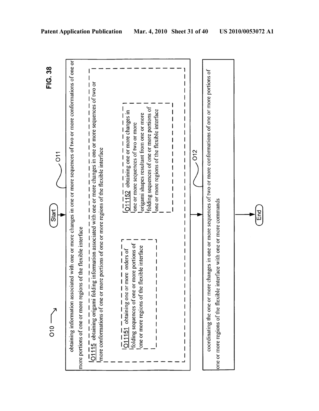 Application control based on flexible interface conformation sequence status - diagram, schematic, and image 32