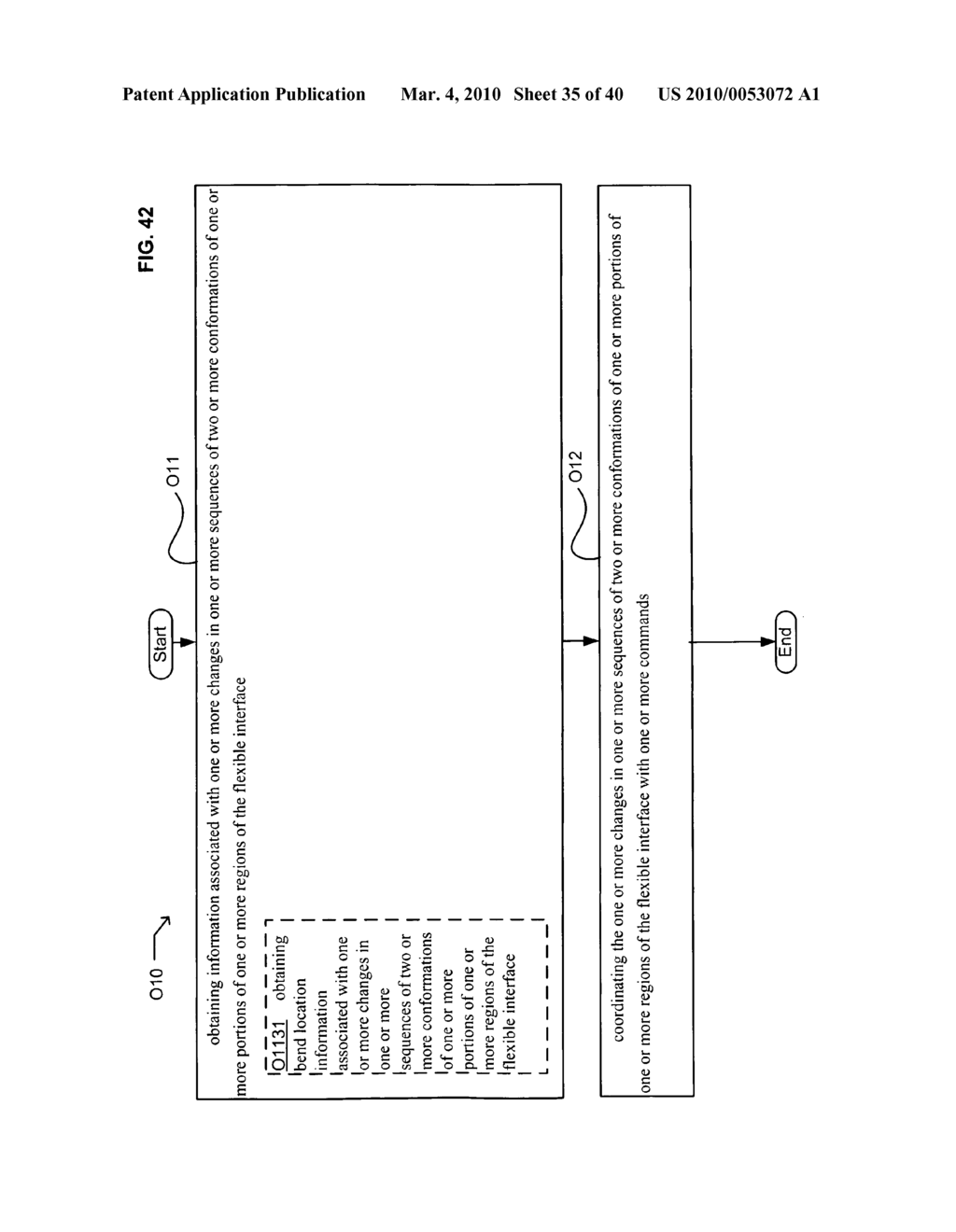 Application control based on flexible interface conformation sequence status - diagram, schematic, and image 36