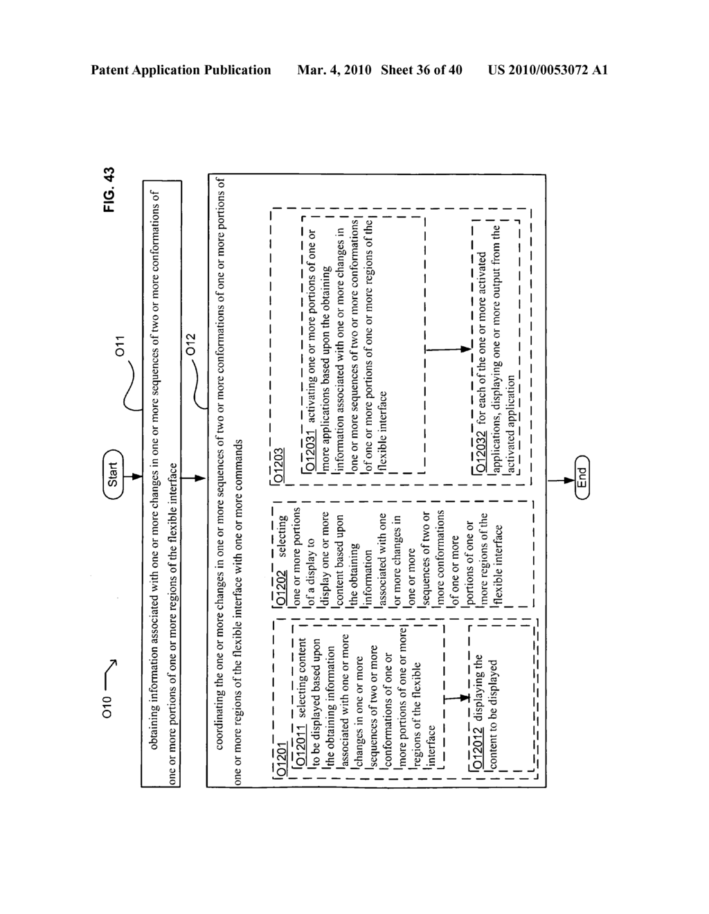 Application control based on flexible interface conformation sequence status - diagram, schematic, and image 37