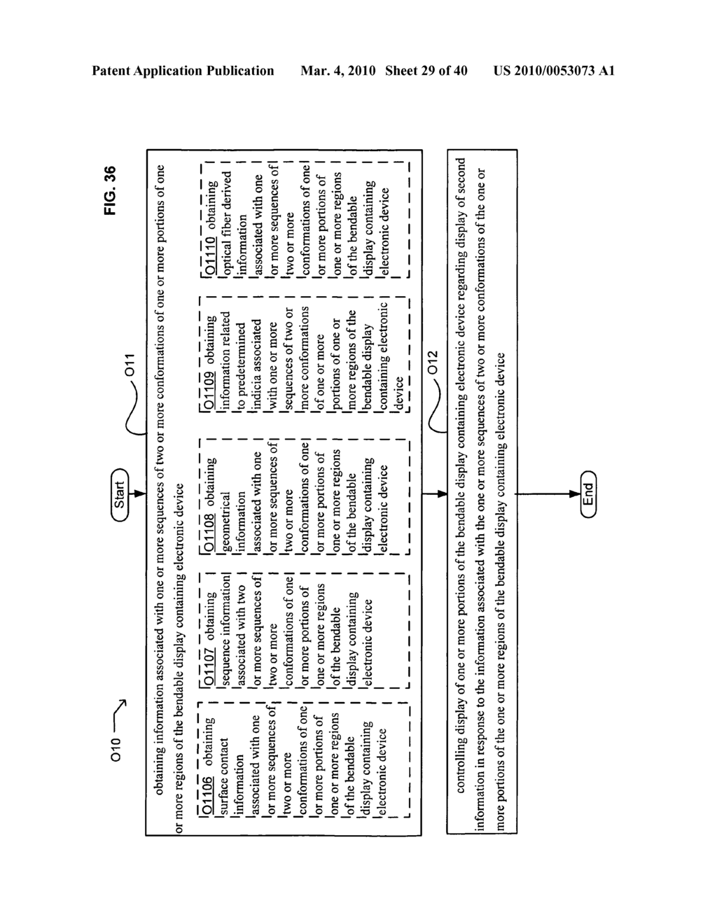Display control based on bendable display containing electronic device conformation sequence status - diagram, schematic, and image 31