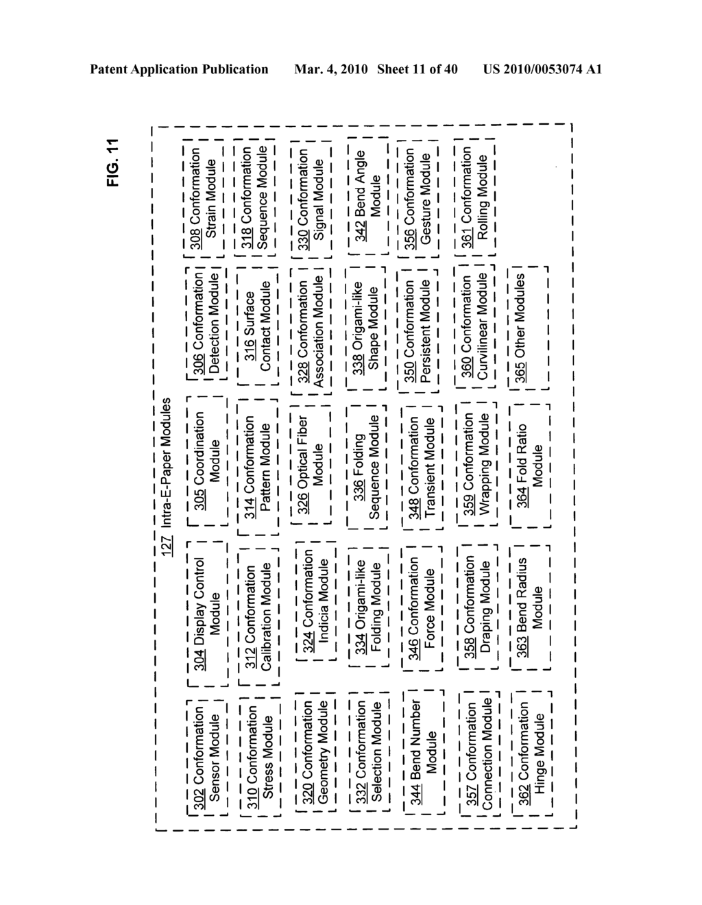 Display control based on bendable display containing electronic device conformation sequence status - diagram, schematic, and image 12