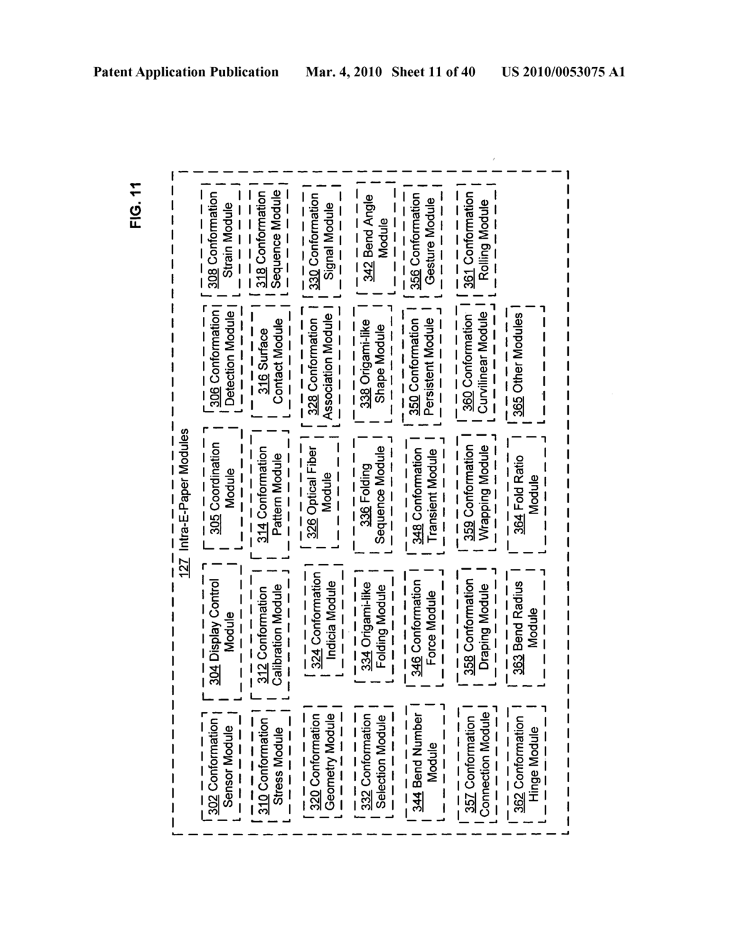 Display control based on bendable interface containing electronic device conformation sequence status - diagram, schematic, and image 13