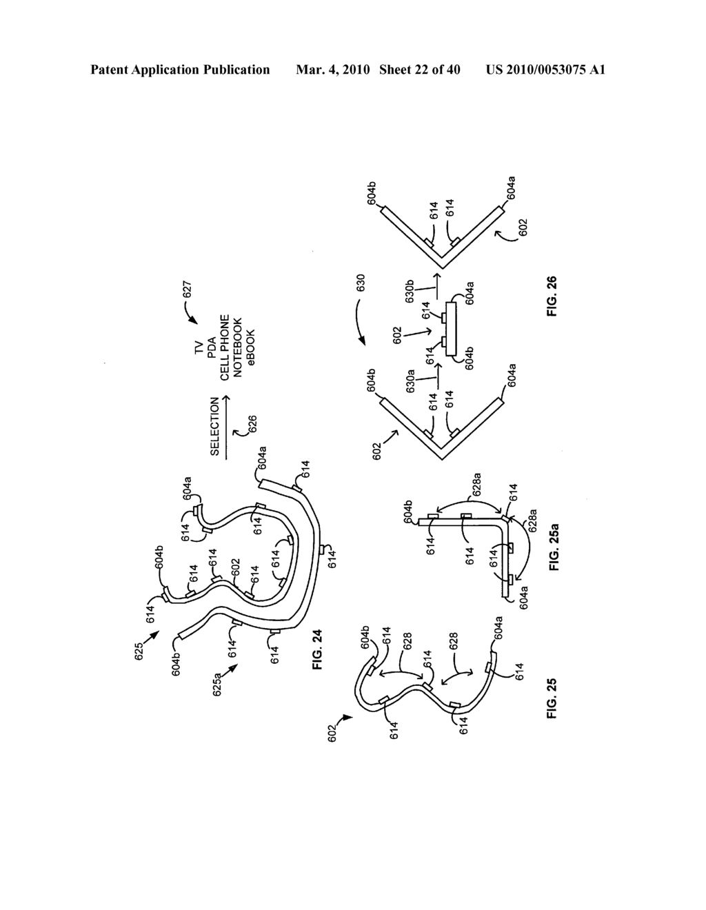 Display control based on bendable interface containing electronic device conformation sequence status - diagram, schematic, and image 24