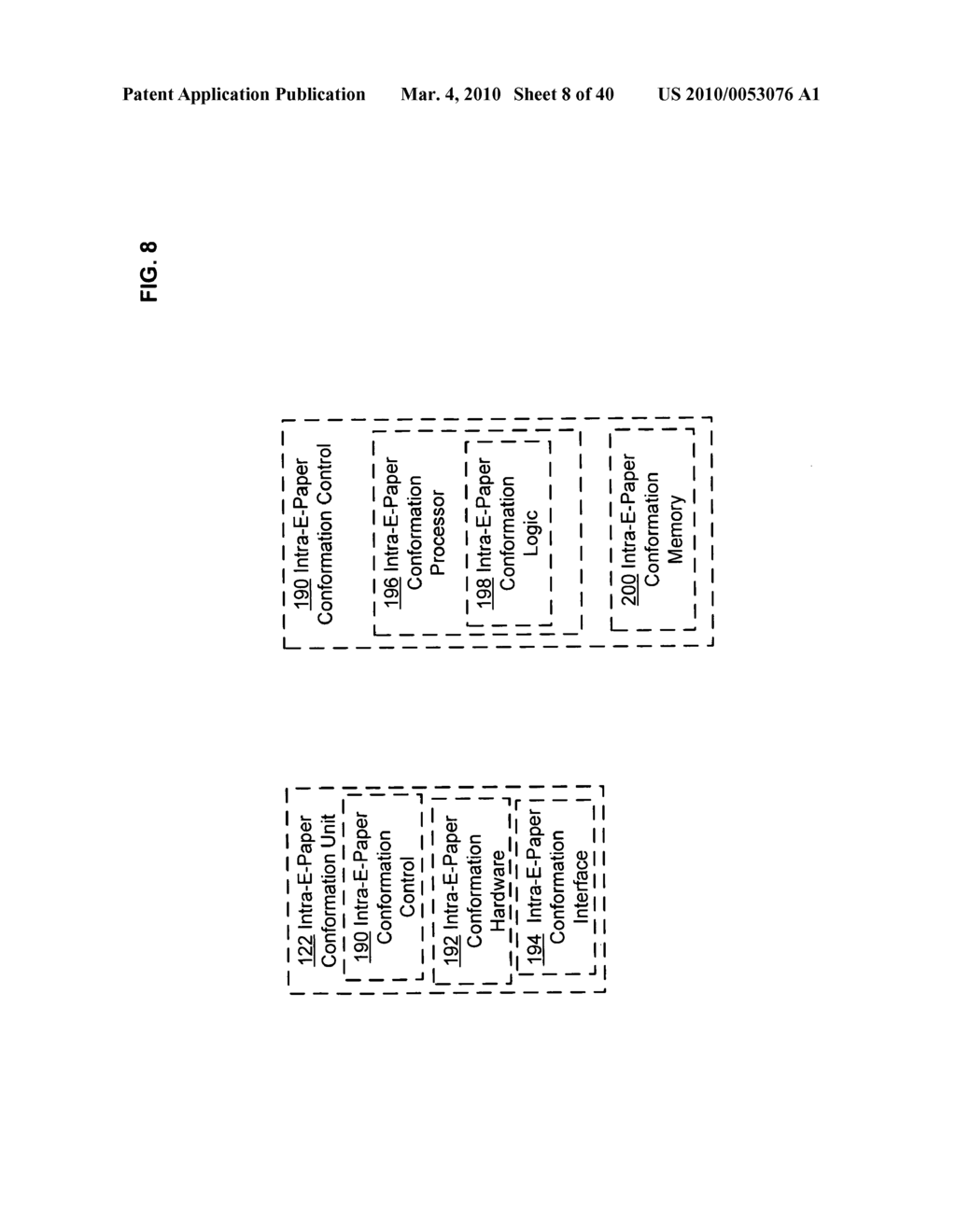 Display control based on bendable interface containing electronic device conformation sequence status - diagram, schematic, and image 10