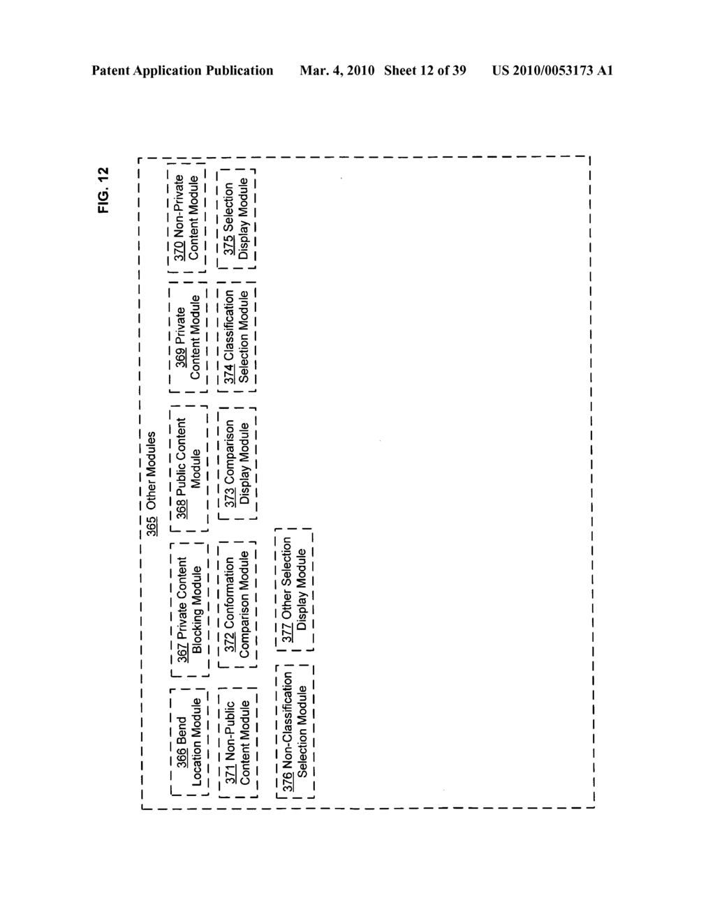 Display control of classified content based on flexible display containing electronic device conformation - diagram, schematic, and image 13