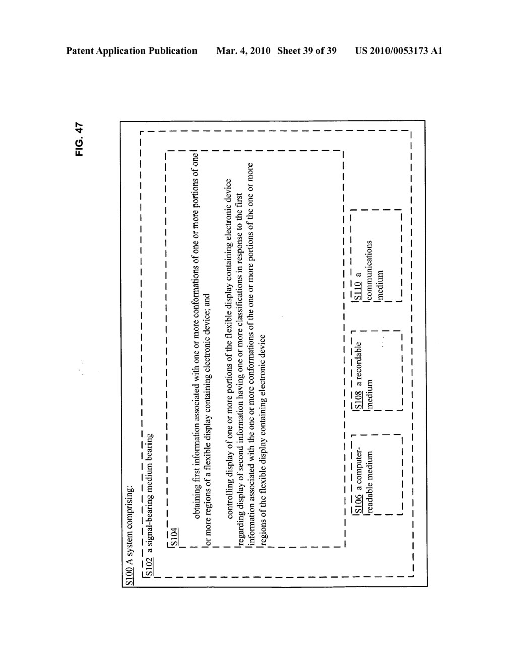 Display control of classified content based on flexible display containing electronic device conformation - diagram, schematic, and image 40