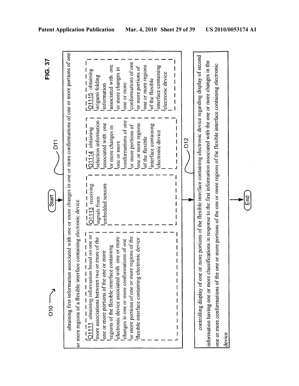 Display control of classified content based on flexible interface e-paper conformation - diagram, schematic, and image 30