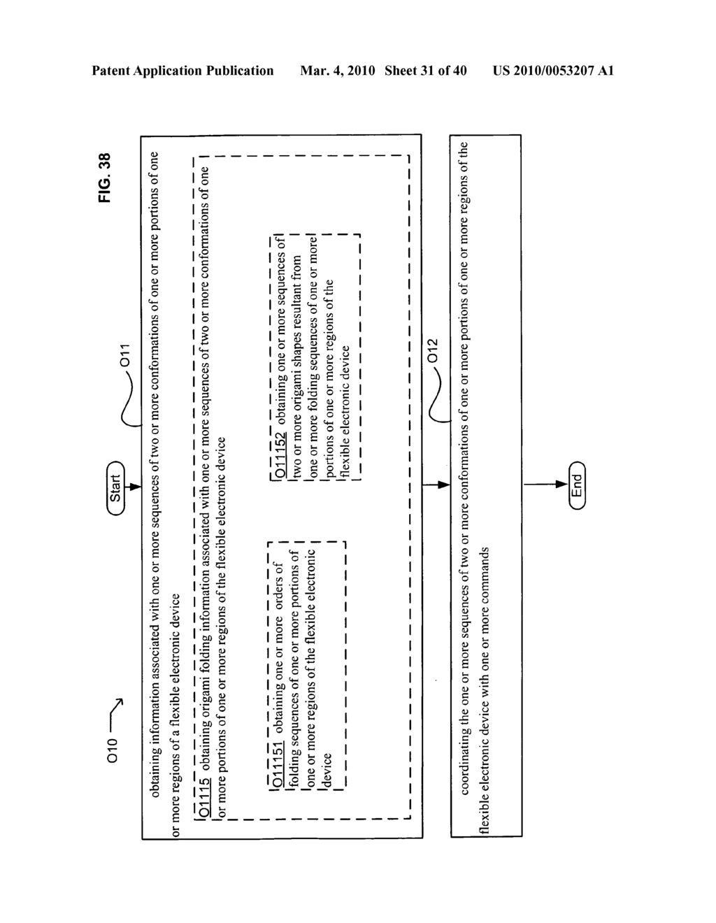 Application control based on flexible electronic device conformation sequence status - diagram, schematic, and image 32