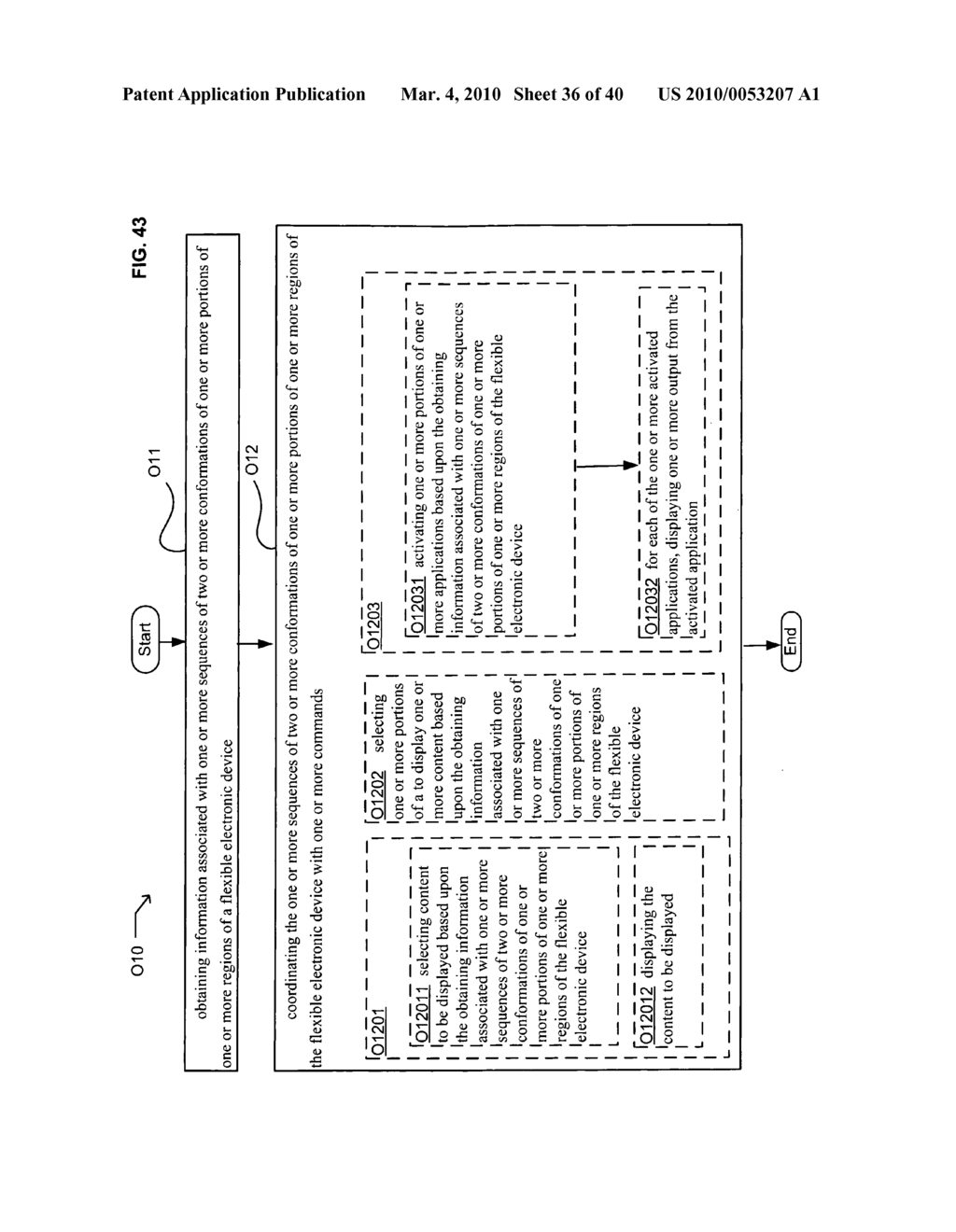 Application control based on flexible electronic device conformation sequence status - diagram, schematic, and image 37