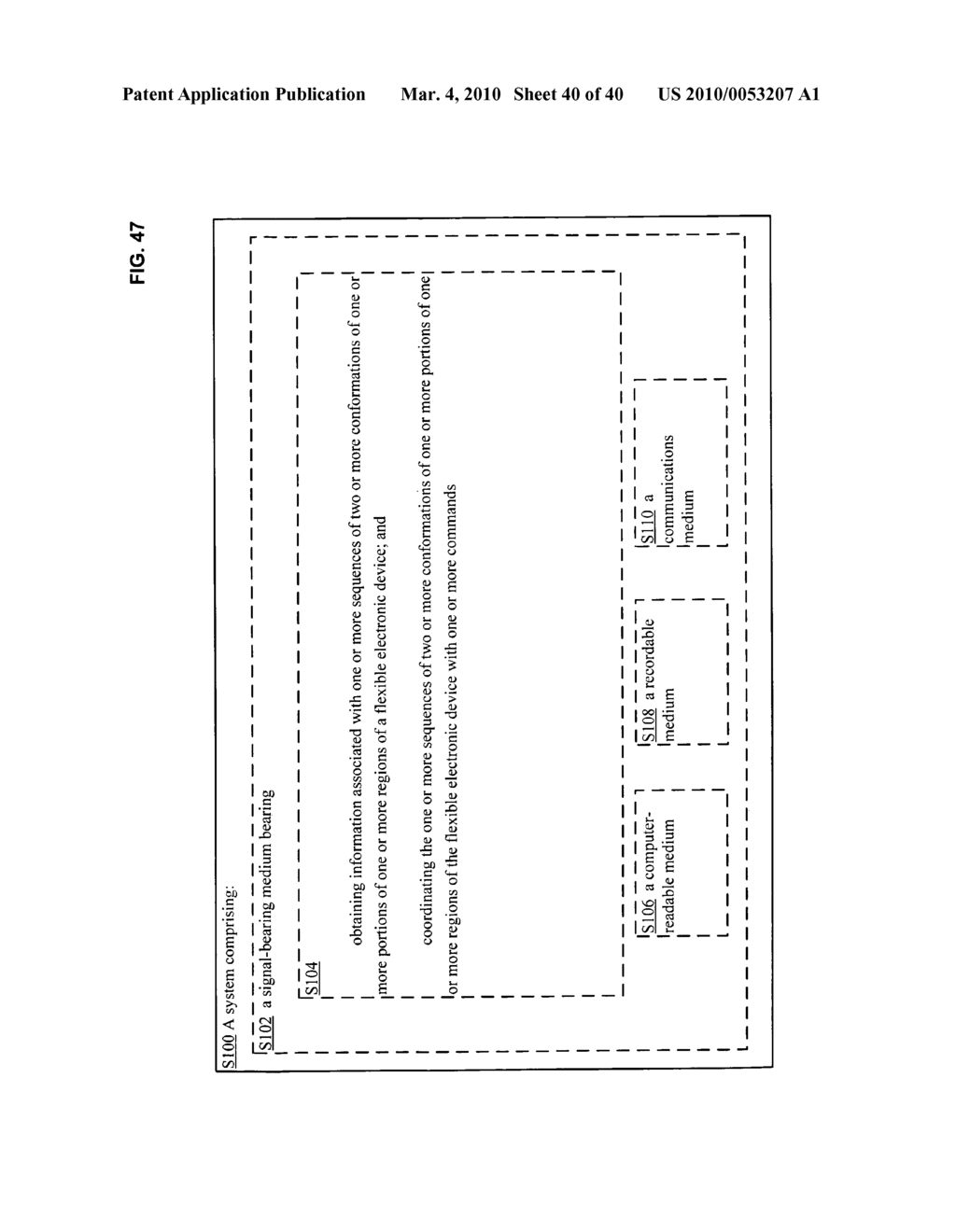 Application control based on flexible electronic device conformation sequence status - diagram, schematic, and image 41
