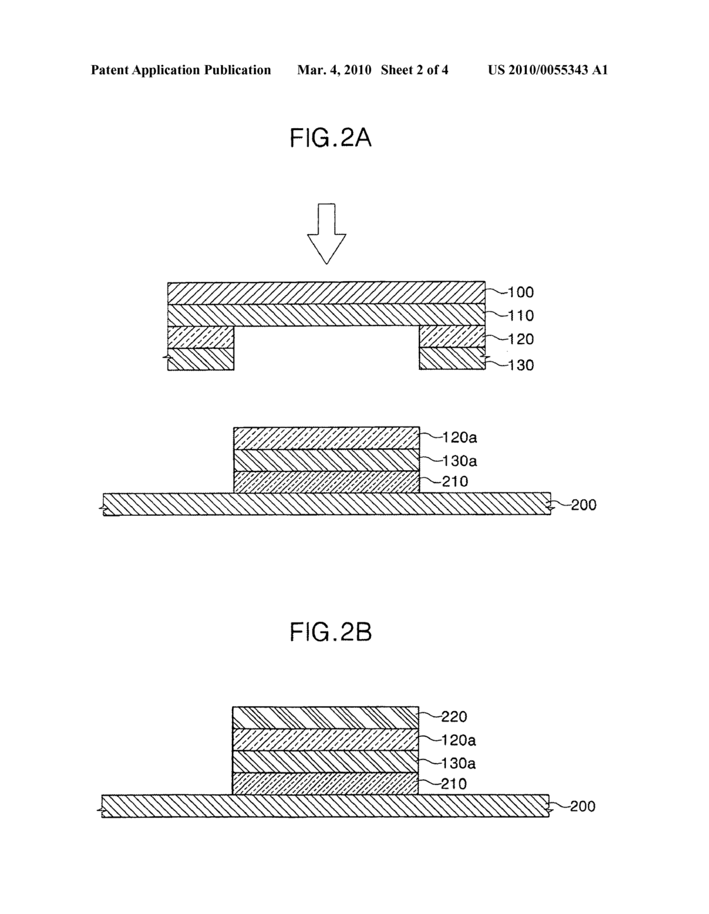 Donor substrate for laser induced thermal imaging and method of fabricating organic light emitting diode using the same - diagram, schematic, and image 03
