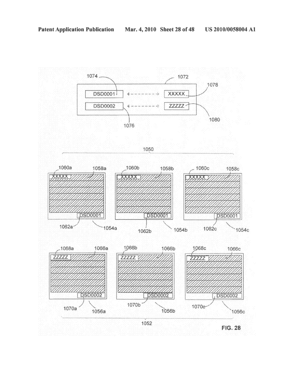 Method of manufacturing a limited use data storing device - diagram, schematic, and image 29