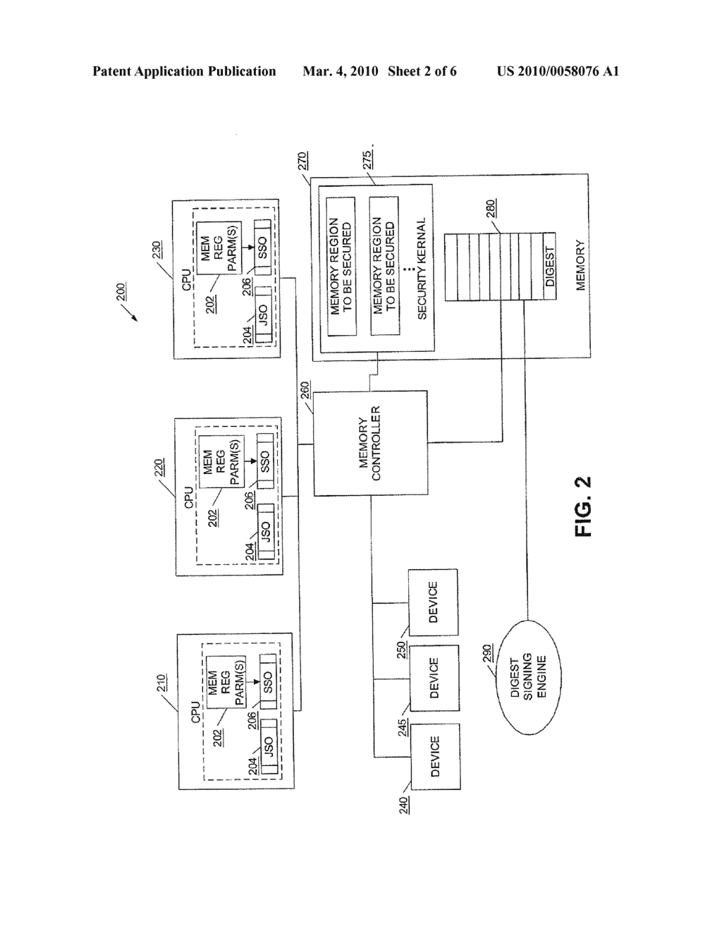 METHOD AND APPARATUS FOR LOADING A TRUSTABLE OPERATING SYSTEM - diagram, schematic, and image 03
