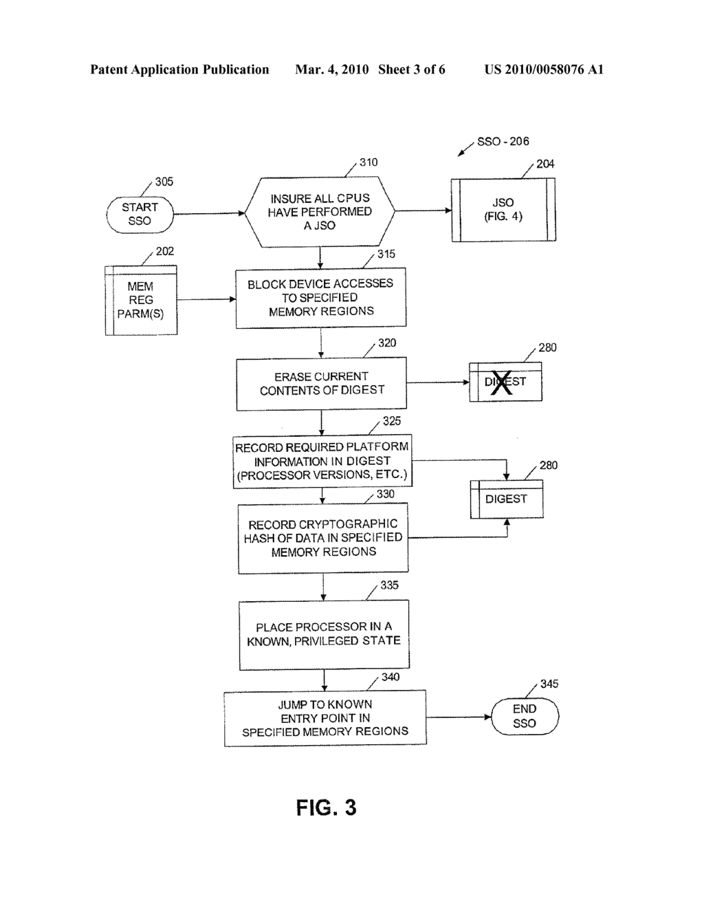 METHOD AND APPARATUS FOR LOADING A TRUSTABLE OPERATING SYSTEM - diagram, schematic, and image 04