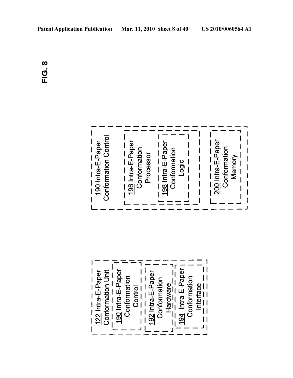E-paper display control of classified content based on e-paper conformation - diagram, schematic, and image 09