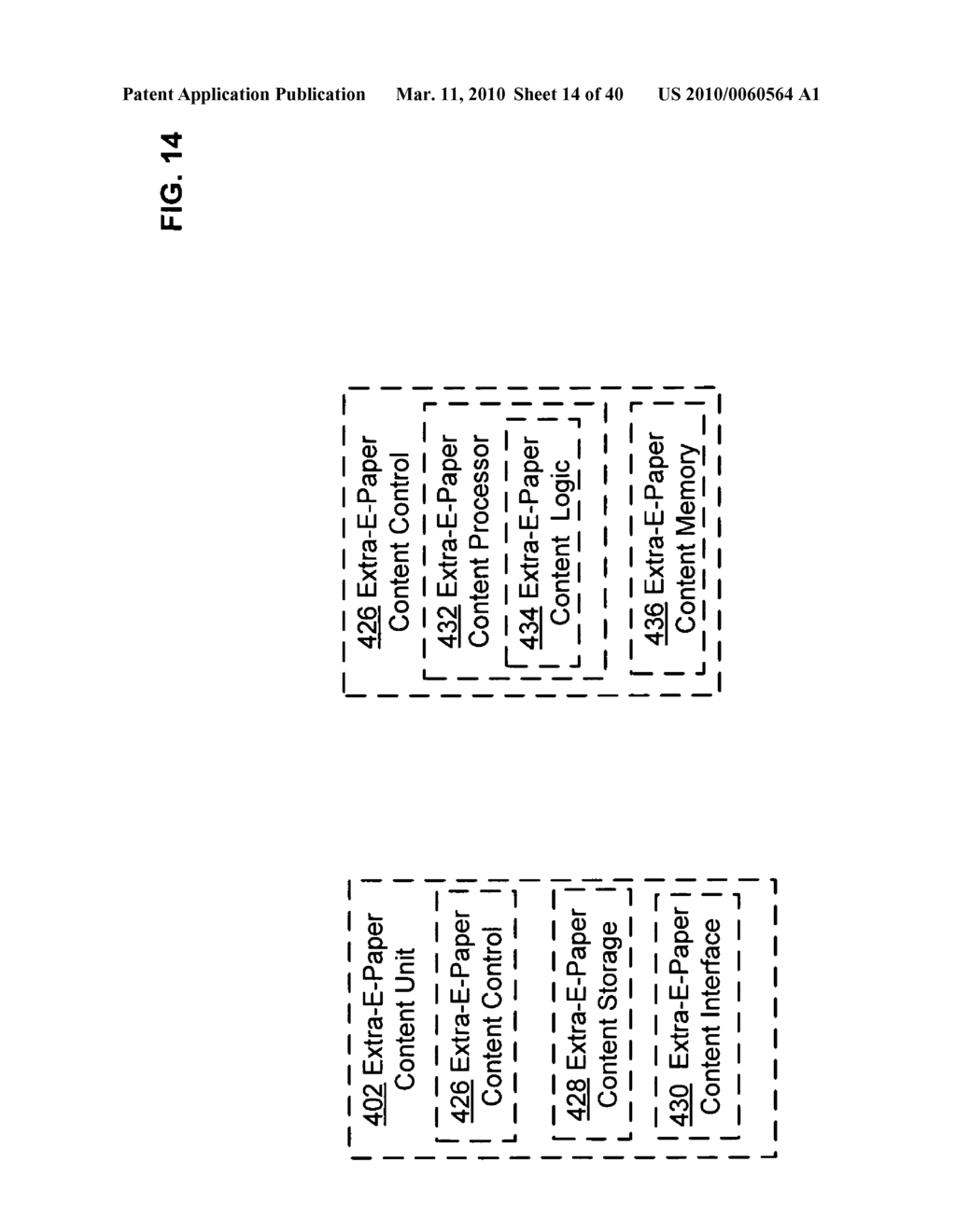 E-paper display control of classified content based on e-paper conformation - diagram, schematic, and image 15