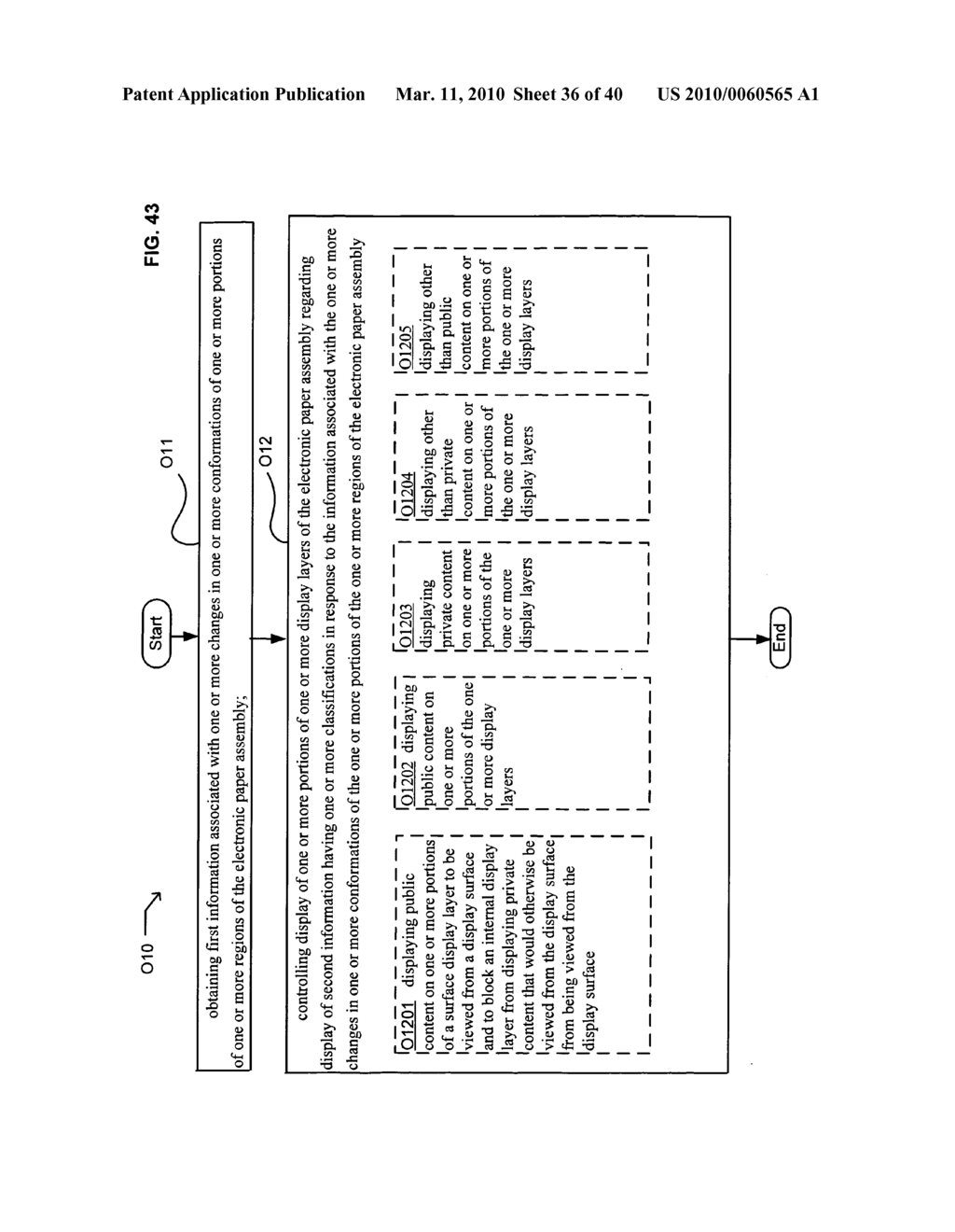 E-paper display control of classified content based on e-paper conformation - diagram, schematic, and image 37