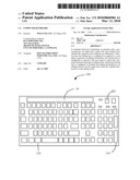 COMPUTER KEYBOARD diagram and image