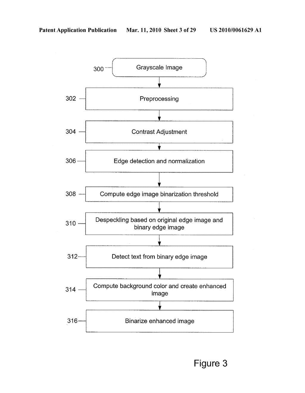 Method and Apparatus for Binarization Threshold Calculation - diagram, schematic, and image 04