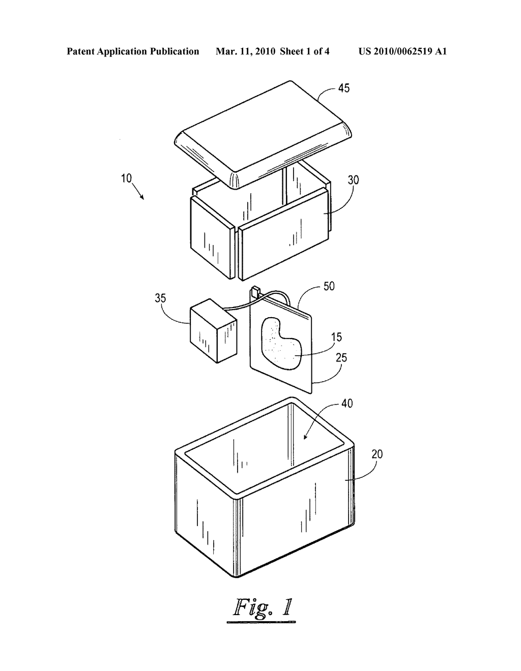Portable organ and tissue preservation apparatus, kit and methods - diagram, schematic, and image 02