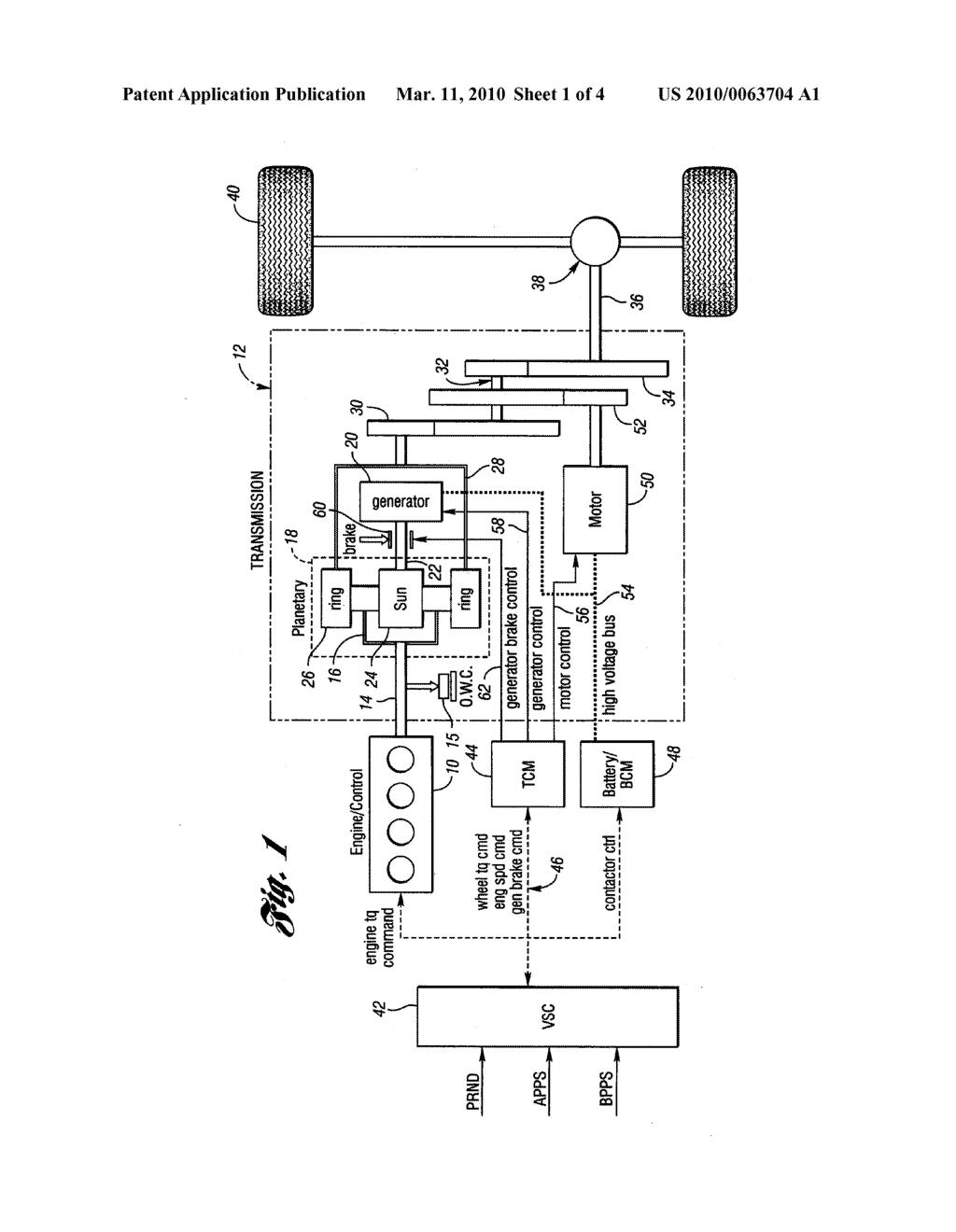 hybrid electric vehicle powertrain with enhanced reverse drive rh patentsencyclopedia com powertrain schematic diagram powertrain diagram 2006 jeep liberty