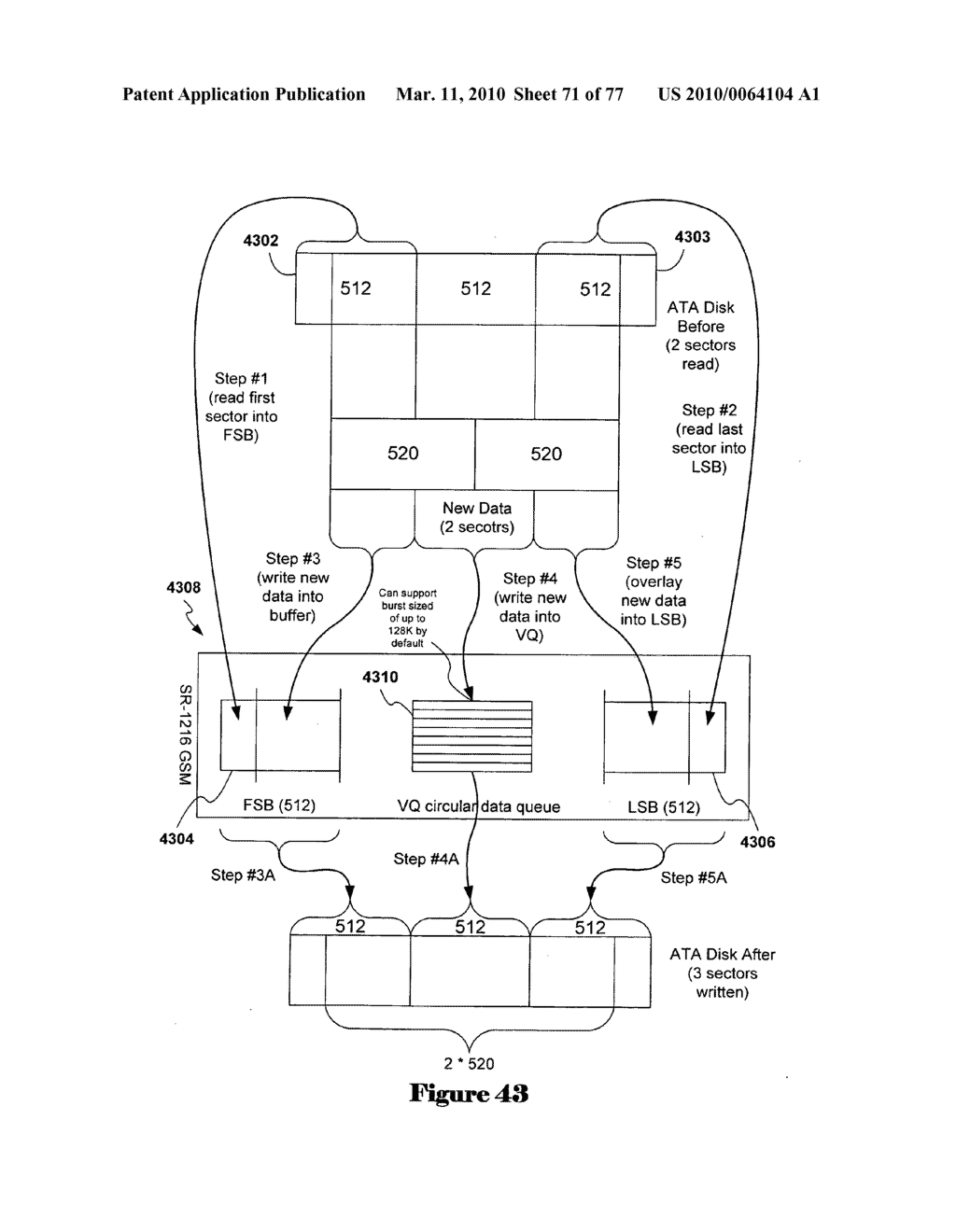 Integrated-circuit implementation of a storage-shelf router and a path controller card for combined use in high-availability mass-storage-device shelves and that support virtual disk formatting - diagram, schematic, and image 72