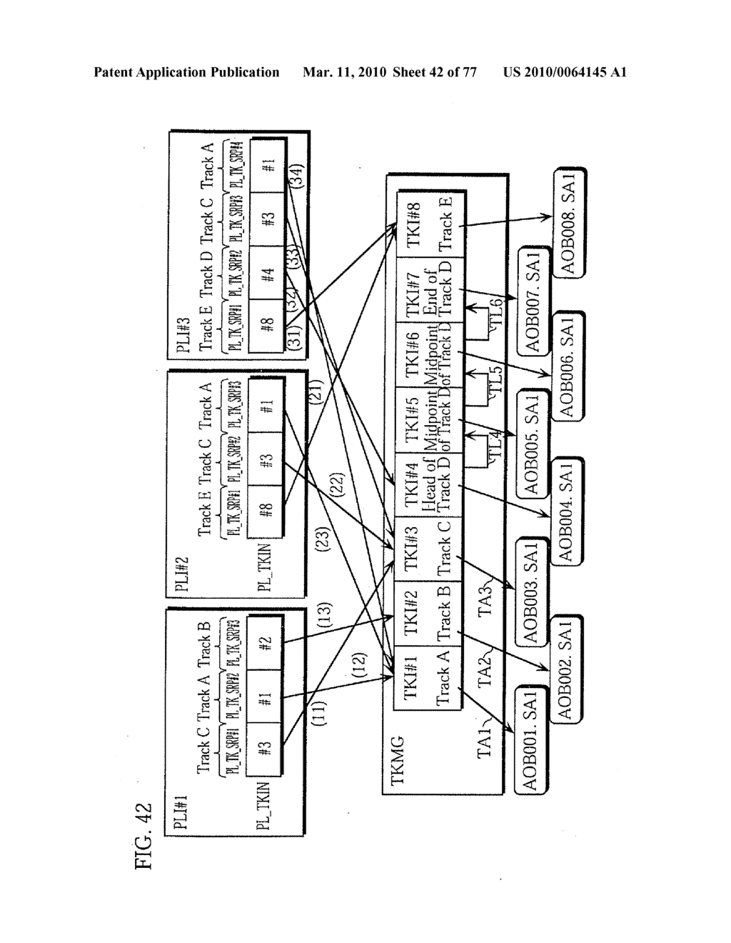 SEMICONDUCTOR MEMORY CARD, PLAYBACK APPARATUS, RECORDING APPARATUS, PLAYBACK METHOD, RECORDING METHOD, AND COMPUTER-READABLE RECORDING MEDIUM - diagram, schematic, and image 43