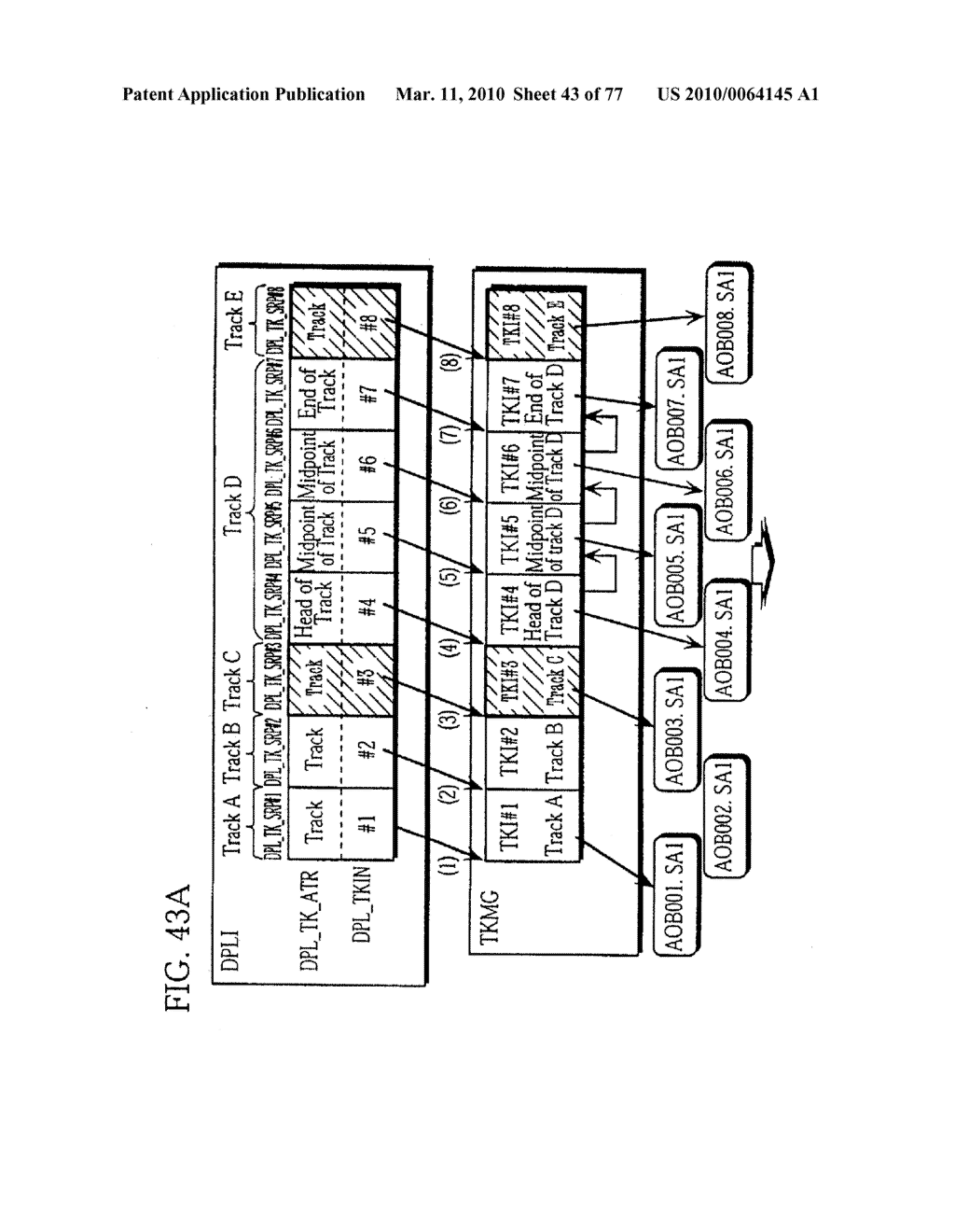 SEMICONDUCTOR MEMORY CARD, PLAYBACK APPARATUS, RECORDING APPARATUS, PLAYBACK METHOD, RECORDING METHOD, AND COMPUTER-READABLE RECORDING MEDIUM - diagram, schematic, and image 44