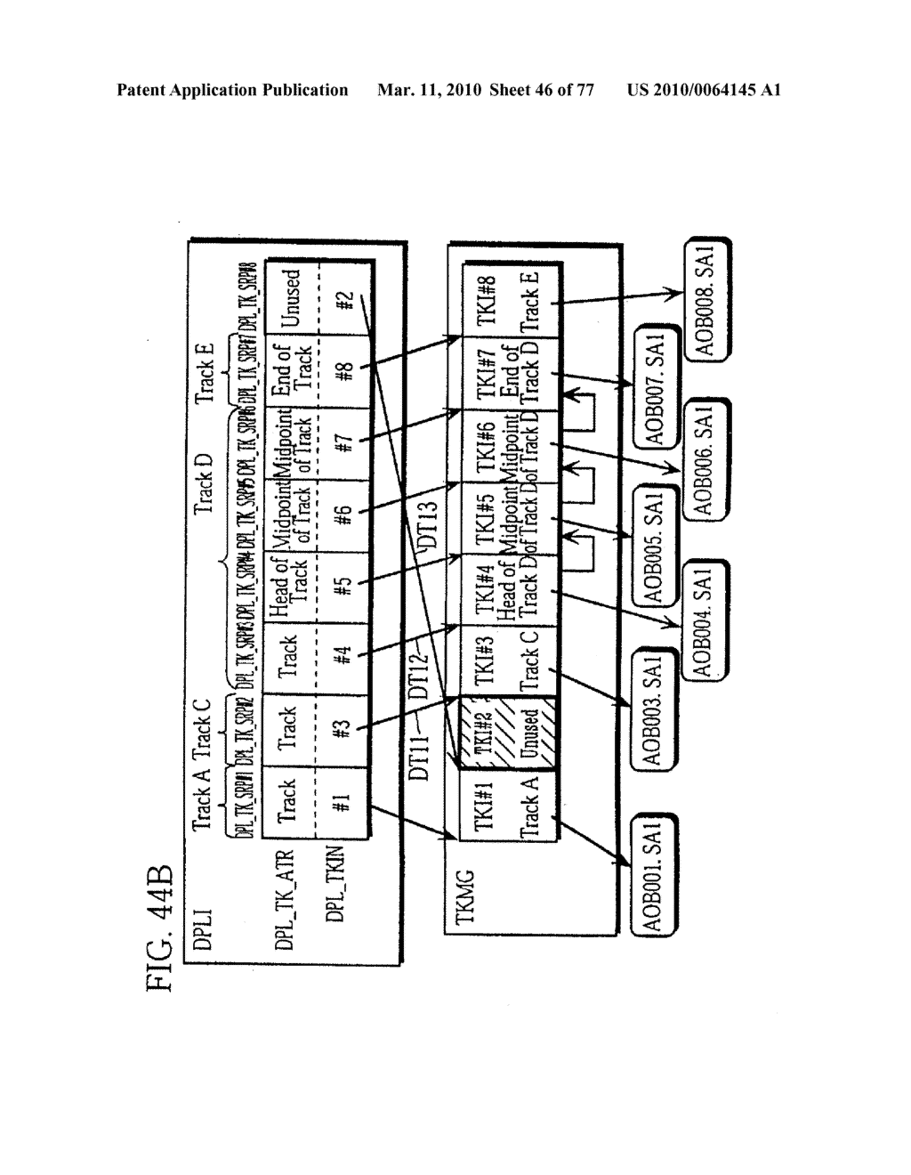 SEMICONDUCTOR MEMORY CARD, PLAYBACK APPARATUS, RECORDING APPARATUS, PLAYBACK METHOD, RECORDING METHOD, AND COMPUTER-READABLE RECORDING MEDIUM - diagram, schematic, and image 47