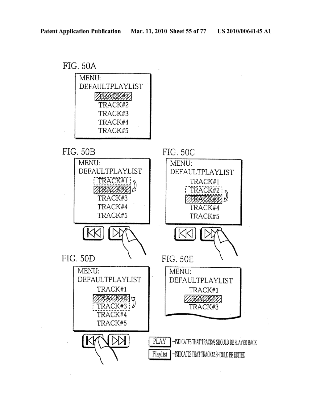 SEMICONDUCTOR MEMORY CARD, PLAYBACK APPARATUS, RECORDING APPARATUS, PLAYBACK METHOD, RECORDING METHOD, AND COMPUTER-READABLE RECORDING MEDIUM - diagram, schematic, and image 56
