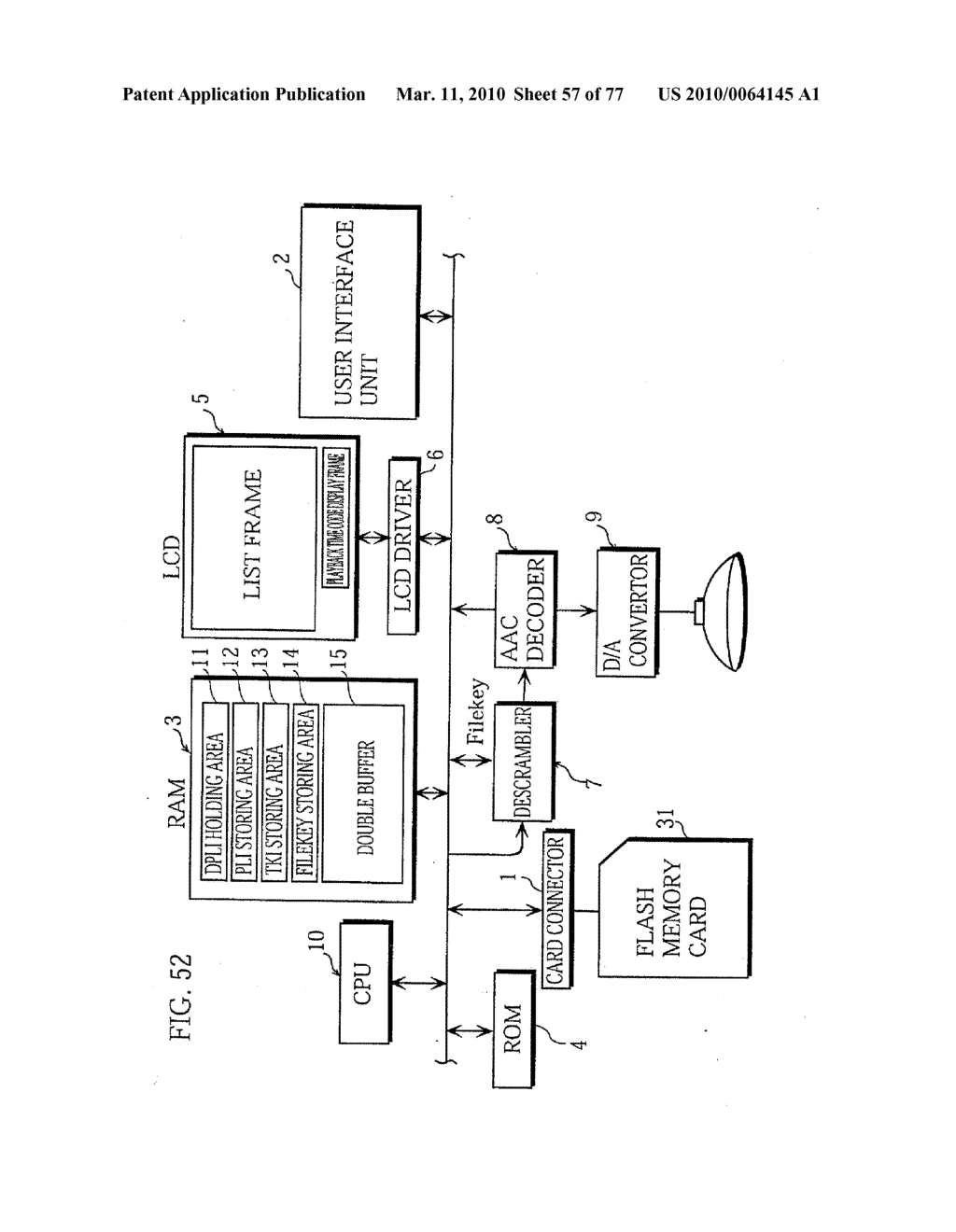 SEMICONDUCTOR MEMORY CARD, PLAYBACK APPARATUS, RECORDING APPARATUS, PLAYBACK METHOD, RECORDING METHOD, AND COMPUTER-READABLE RECORDING MEDIUM - diagram, schematic, and image 58