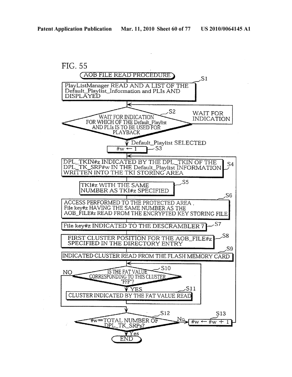 SEMICONDUCTOR MEMORY CARD, PLAYBACK APPARATUS, RECORDING APPARATUS, PLAYBACK METHOD, RECORDING METHOD, AND COMPUTER-READABLE RECORDING MEDIUM - diagram, schematic, and image 61