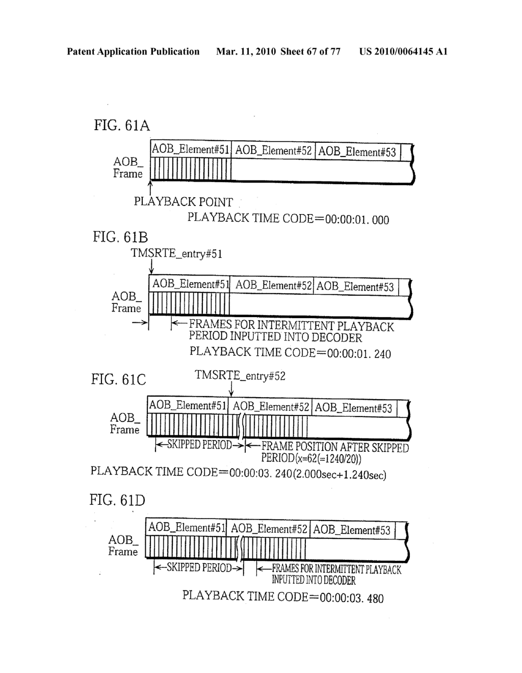 SEMICONDUCTOR MEMORY CARD, PLAYBACK APPARATUS, RECORDING APPARATUS, PLAYBACK METHOD, RECORDING METHOD, AND COMPUTER-READABLE RECORDING MEDIUM - diagram, schematic, and image 68