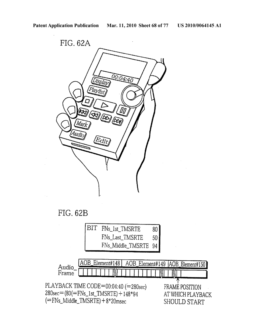 SEMICONDUCTOR MEMORY CARD, PLAYBACK APPARATUS, RECORDING APPARATUS, PLAYBACK METHOD, RECORDING METHOD, AND COMPUTER-READABLE RECORDING MEDIUM - diagram, schematic, and image 69