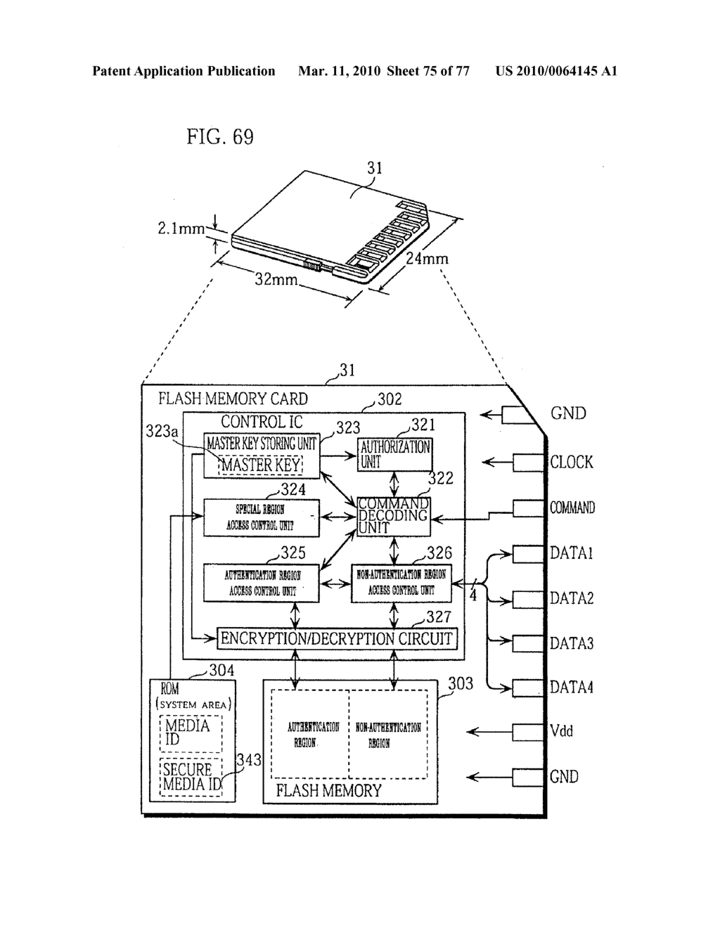 SEMICONDUCTOR MEMORY CARD, PLAYBACK APPARATUS, RECORDING APPARATUS, PLAYBACK METHOD, RECORDING METHOD, AND COMPUTER-READABLE RECORDING MEDIUM - diagram, schematic, and image 76