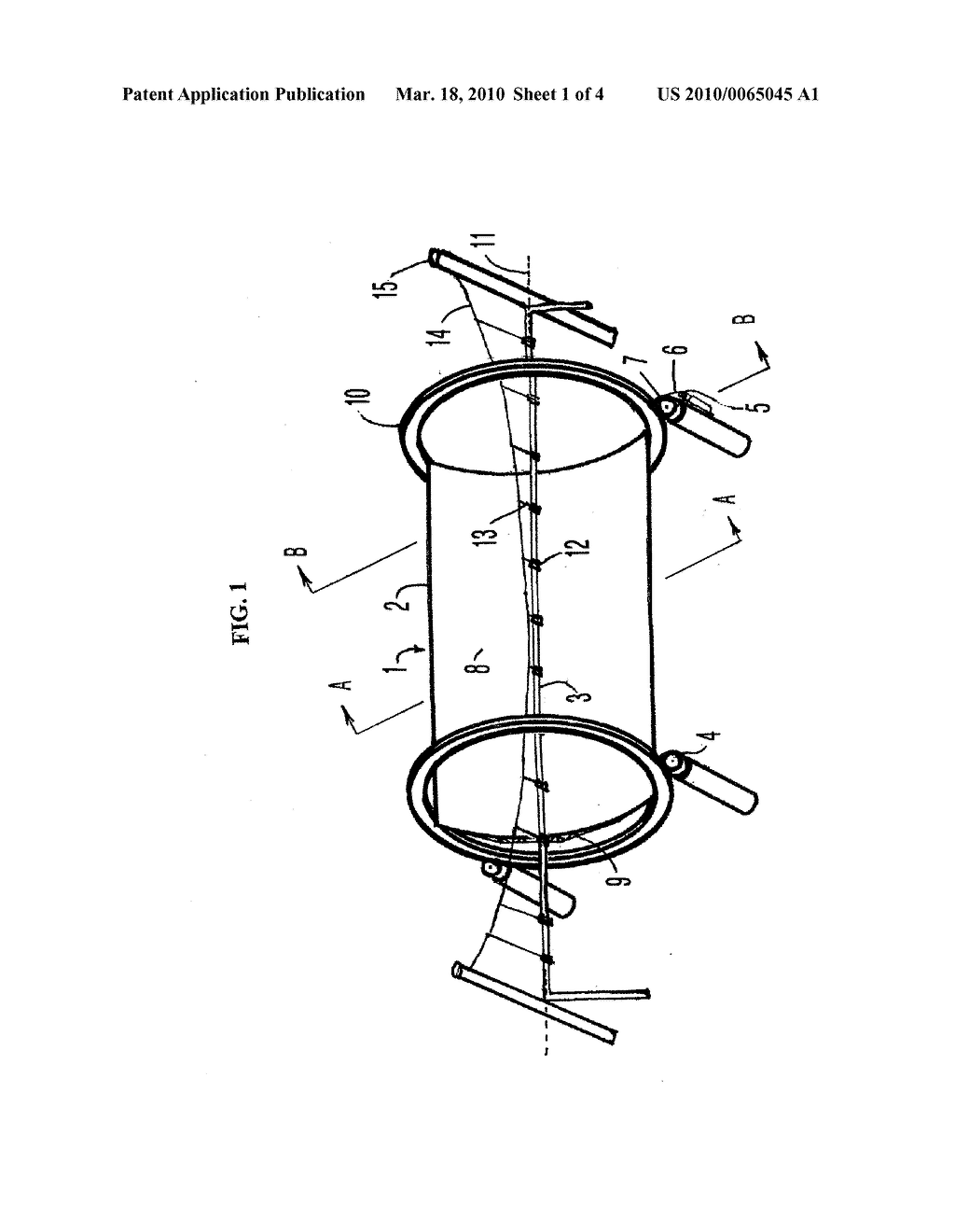 Parabolic Trough Solar Reflector With An Independently Supported Collector Tube - diagram, schematic, and image 02