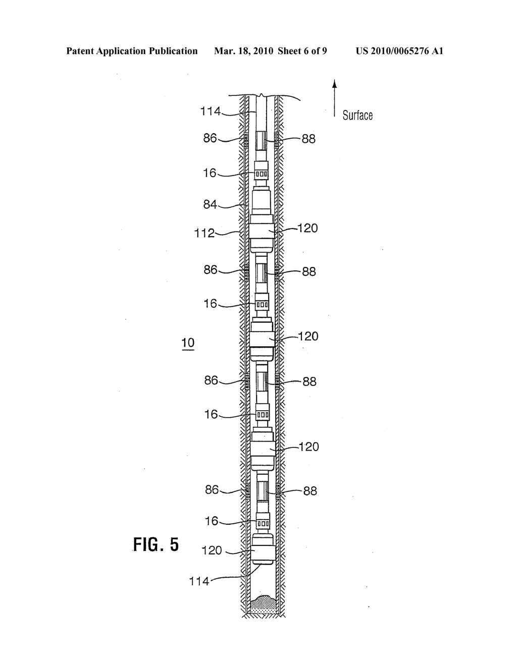METHOD AND APPARATUS FOR WELLBORE FLUID TREATMENT - diagram, schematic, and image 07